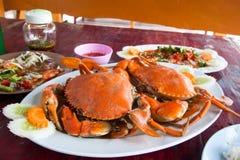 Steamed Crab Stock Photos