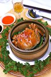Steamed crabs Royalty Free Stock Photos