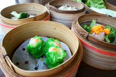 Steamed dimsum Stock Photography