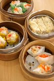 Steamed dimsum Stock Photos
