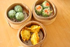 Steamed dimsum Stock Photo