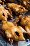 Steamed duck. Stewed ducks in the market for sale,Thailand royalty free stock photos