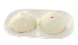 Steamed dumpling Royalty Free Stock Image