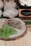 Steamed dumpling stuffed with taro is delicious. Stock Images