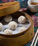 Steamed dumplings Royalty Free Stock Photo