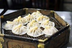 Steamed dumplings Royalty Free Stock Images