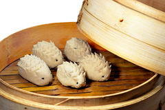 Steamed dumplings Royalty Free Stock Images