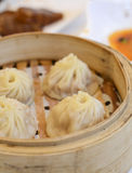 Steamed dumplings Royalty Free Stock Photography