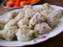 Steamed dumplings Royalty Free Stock Image