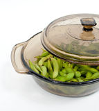 Steamed Edamame Royalty Free Stock Photo