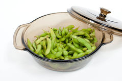 Steamed Edamame Royalty Free Stock Images