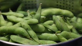Steamed Edamame Royalty Free Stock Image