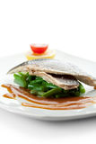 Steamed Fish Royalty Free Stock Photo