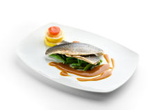 Steamed Fish Royalty Free Stock Image