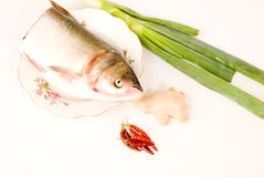 Steamed fish,Chinese food Stock Photo