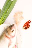 Steamed fish,Chinese food Royalty Free Stock Photography