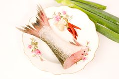 Steamed fish,Chinese food Royalty Free Stock Photos
