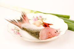Steamed fish,Chinese food Stock Image