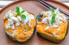 Steamed Fish Curry. Thailand food Steamed Fish Curry Royalty Free Stock Photos