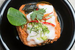 Free Steamed Fish With Curry Paste Royalty Free Stock Image - 42823966