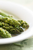 Steamed Green Asparagus Royalty Free Stock Image