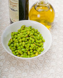 Steamed green beans ialian style Stock Image