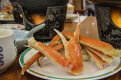 Steamed japan crab Stock Photo