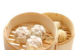 Steamed meat dumpling Stock Image
