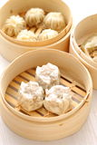 Steamed meat dumpling Royalty Free Stock Images