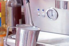 Steamed milk Stock Photos