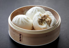 Steamed pork buns Royalty Free Stock Photo