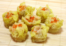 Steamed Prawn Dumplings Royalty Free Stock Photography