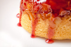 Steamed Pudding Stock Image