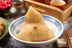 Steamed rice dumpling Stock Photos