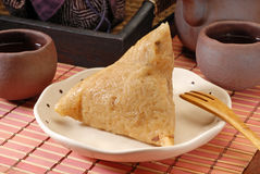 Steamed rice dumpling Royalty Free Stock Image