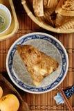 Steamed rice dumpling Stock Image