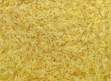 Steamed rice grain Stock Photo