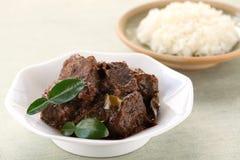 Rendang beef Stock Image