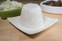 Steamed rice Royalty Free Stock Images