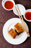 Steamed and roasted pork belly Stock Photography