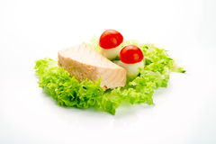Steamed salmon Royalty Free Stock Photo