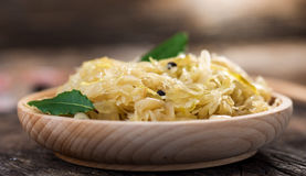 Steamed sauerkraut Stock Photos