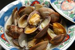 Steamed Shellfish Stock Photo