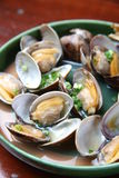 Steamed Shellfish Royalty Free Stock Images