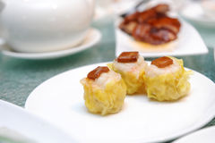 Steamed shrimp dim sum Royalty Free Stock Photo