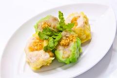 Steamed shrimp dumplings Stock Photography