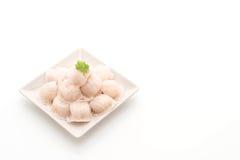 Steamed shrimp dumplings dim sum Royalty Free Stock Photos