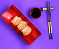 Steamed shrimp dumplings Royalty Free Stock Photography