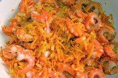 Steamed shrimp Royalty Free Stock Photo