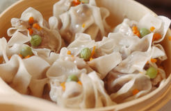 Steamed Siu Mai 1 Royalty Free Stock Images